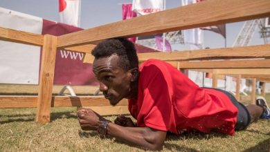 Photo of Qatar's biggest obstacle course race at Aspire Park today
