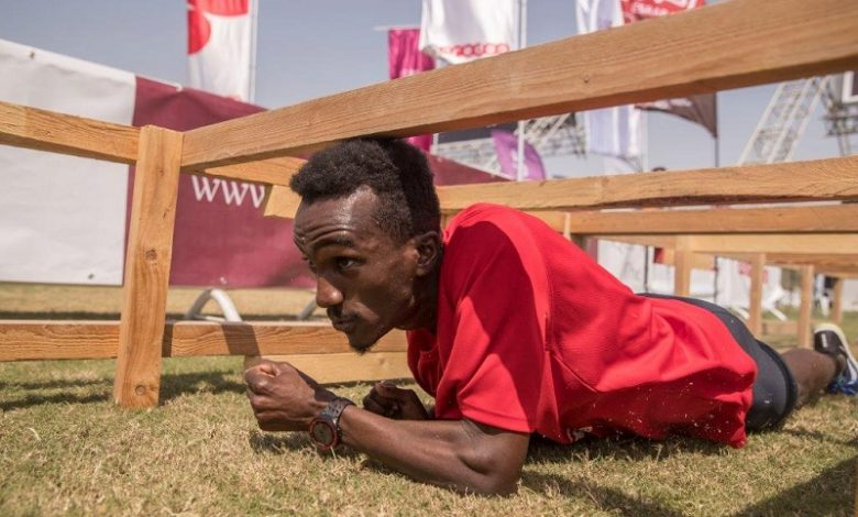 Qatar's biggest obstacle course race at Aspire Park today