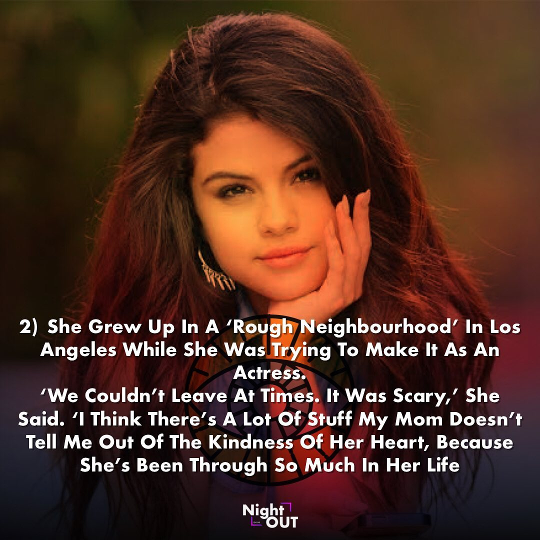 Facts about Selena Gomez