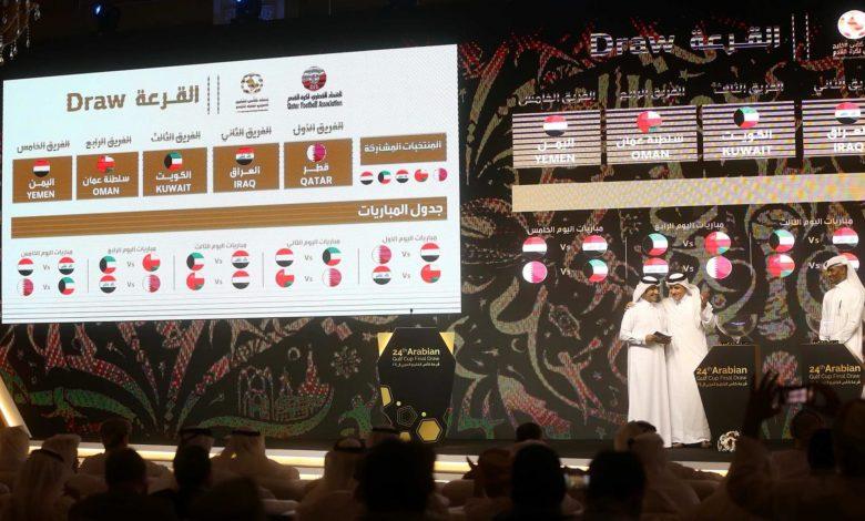 "Dates of ""24th Arabian Gulf Cup"" matches in Qatar Announced"