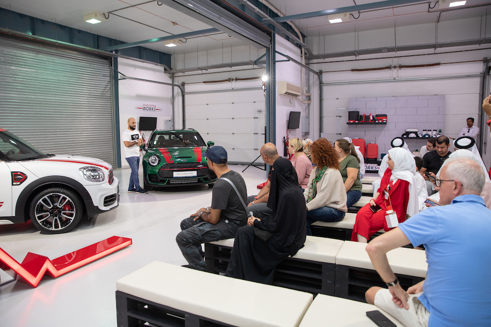 ALL-NEW MINI JOHN COOPER WORKS MODELS PUT TO THE TEST AT LOSAIL INTERNATIONAL CIRCUIT.