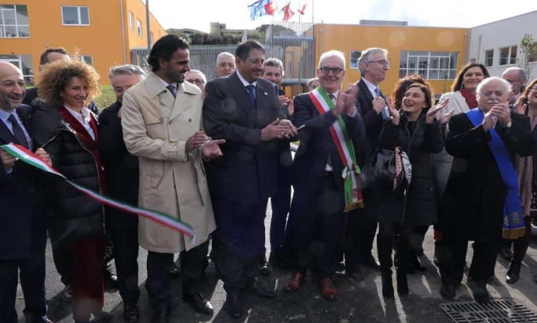 Qatar contributes to reopening a school complex in the Italian city of Macerata