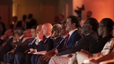 Photo of HH The Amir attend the anti-corruption award ceremony