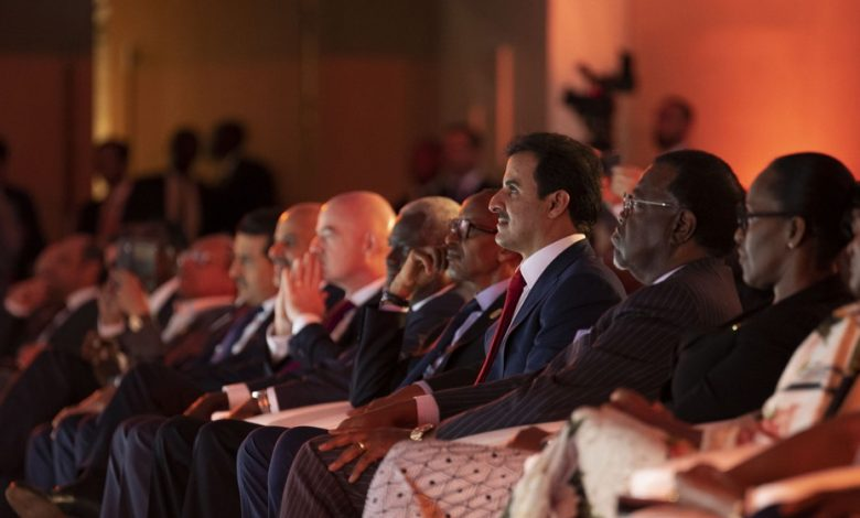 HH The Amir attend the anti-corruption award ceremony