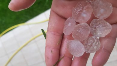 Photo of Hail reported in Mesaieed as Qatar receives heavy rain