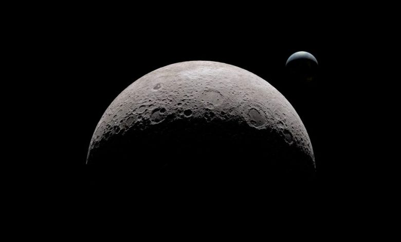 NASA announces exposing dark side of moon and solving mystery of its brightness