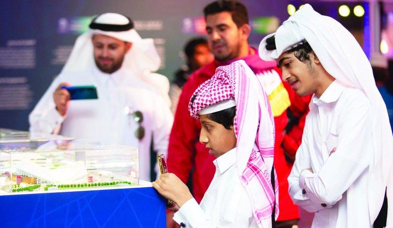 SC showcases Qatar 2022 progress at Darb Al Saai