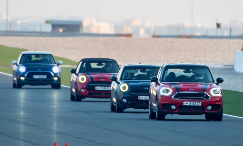 Photo of ALL-NEW MINI JOHN COOPER WORKS MODELS PUT TO THE TEST AT LOSAIL INTERNATIONAL CIRCUIT.