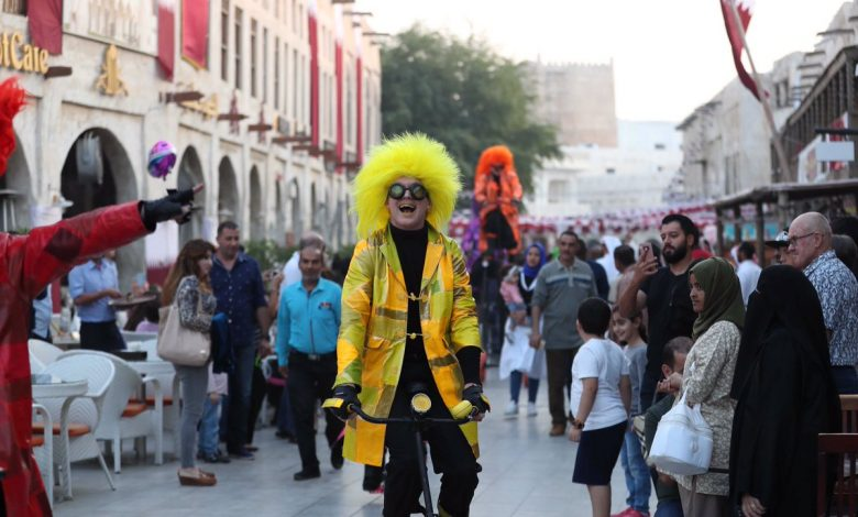 Spring Festival pulls huge crowd at Souq Waqif and Souq Wakrah