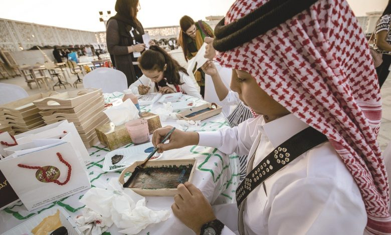 QF students show their pride in Qatar
