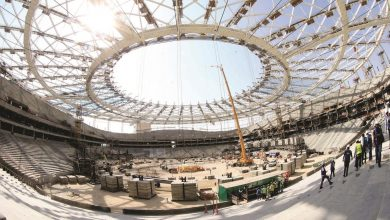 Photo of SC celebrates 15 million safe work hours in Al Thumama Stadium