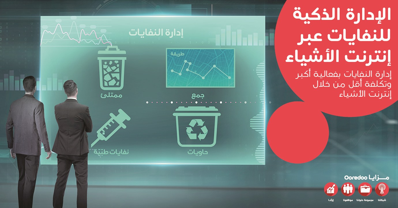 Ooredoo's Smart Waste Management Solution to transform waste collection