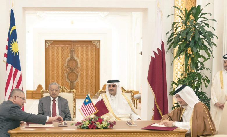 A high-level joint committee Established between Qatar and Malaysia