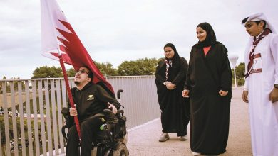 Photo of National unity and pride on display as QF hosts stage of Team Qatar's Flag Relay