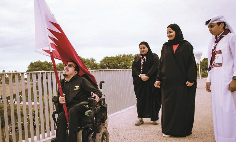 National unity and pride on display as QF hosts stage of Team Qatar's Flag Relay