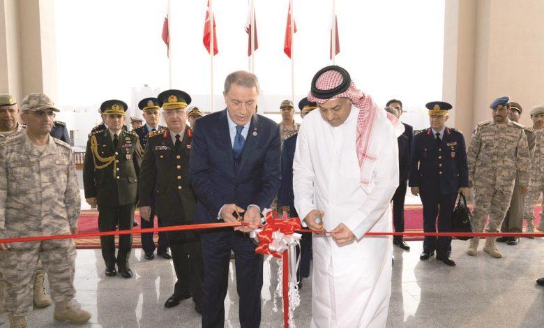 Qatari-Turkish Joint Command headquarters opens