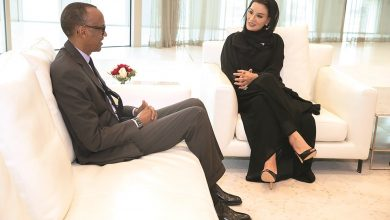 Photo of Sheikha Moza meets President of Rwanda