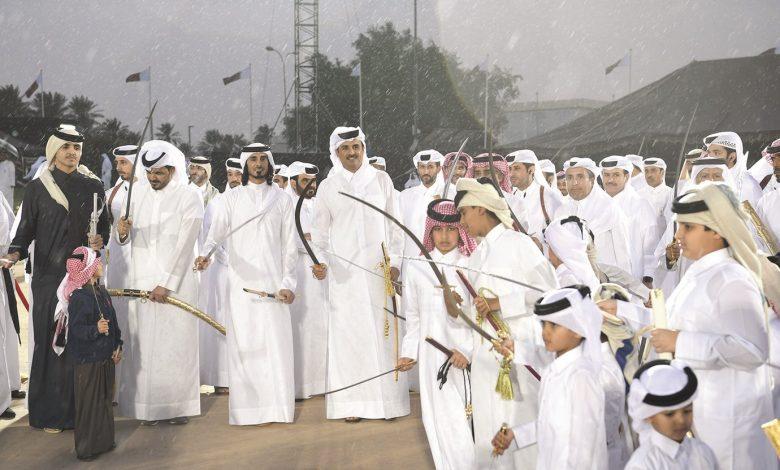 Amir Participates in Qatar's Arda