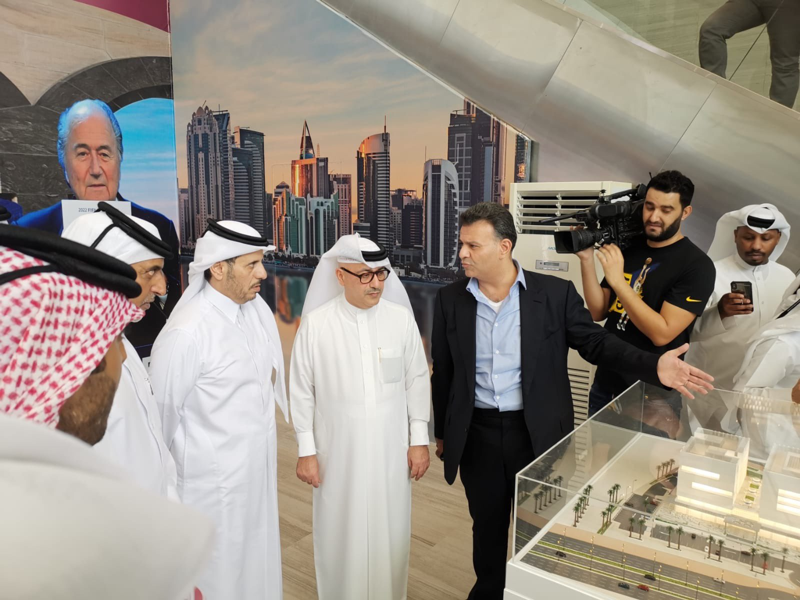 Iconic 2022 Building opens in Aspire Zone