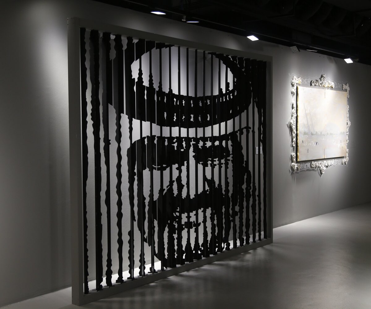 Unique installation by Ukrainian artist on display at Katara