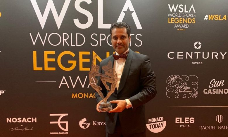 Nasser Al Attiyah Wins Legends of World Sports Oscar