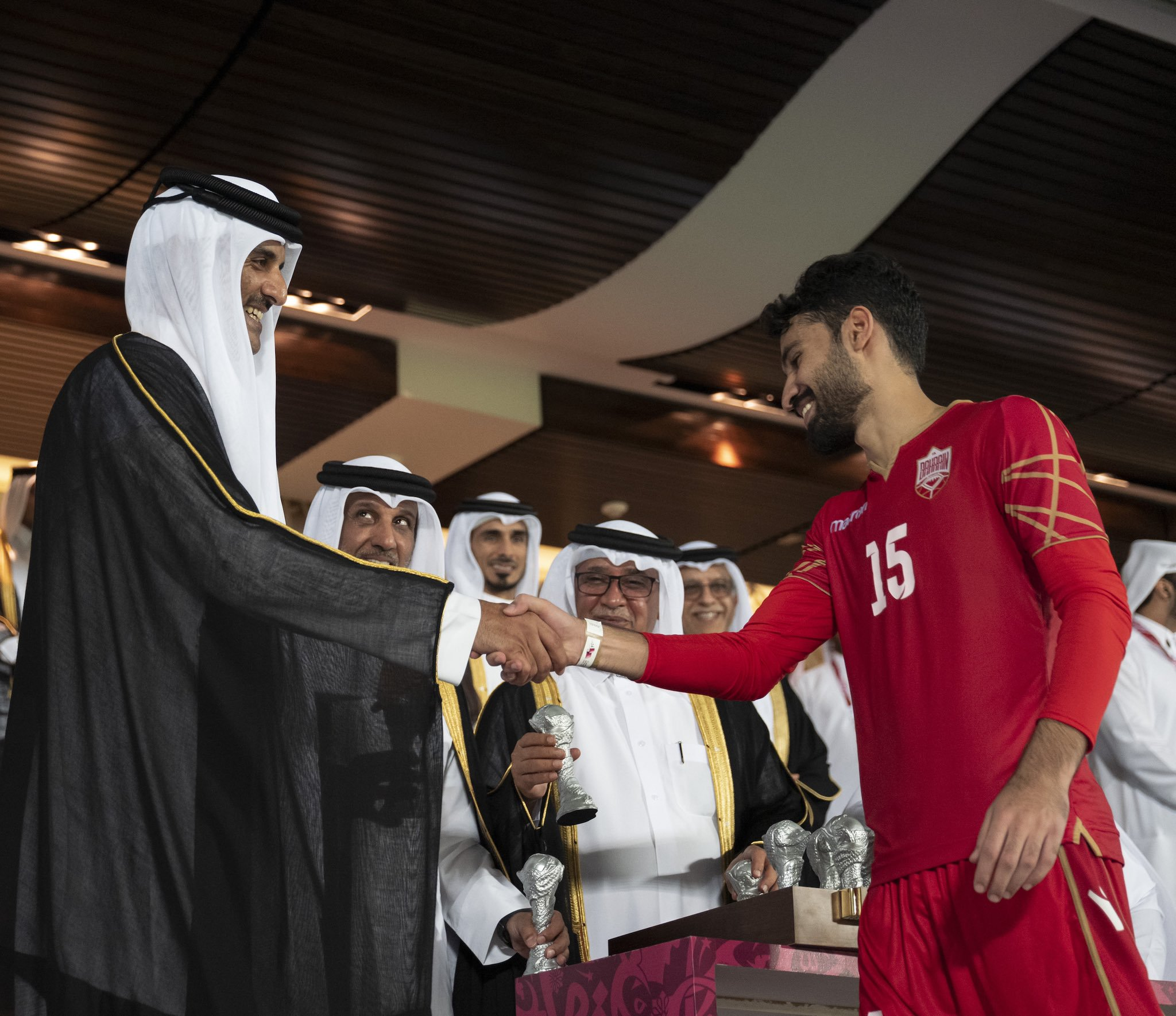 Amir crowns Arabian Gulf Cup 24 winner Bahrain