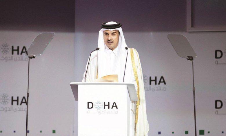 Amir opens Doha Forum 2019