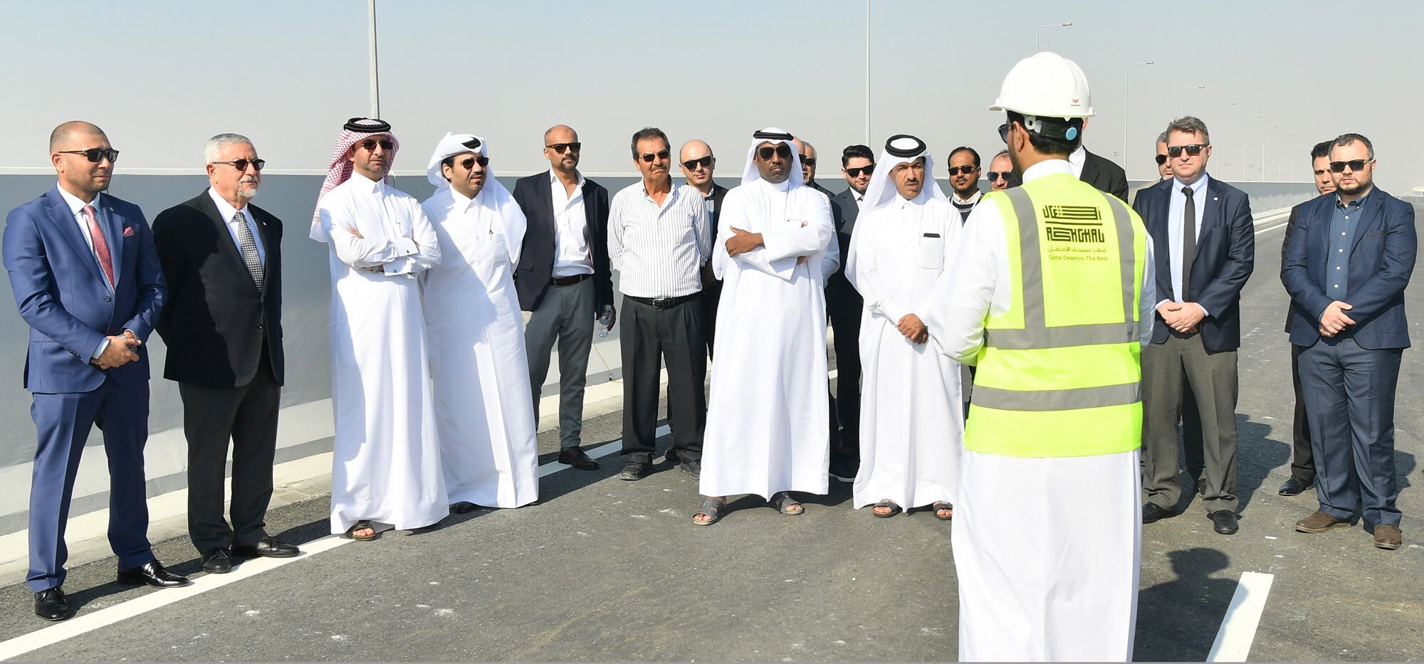 Ashghal opens 2.5 km carriageway of East Industrial Street Extension ahead of schedule