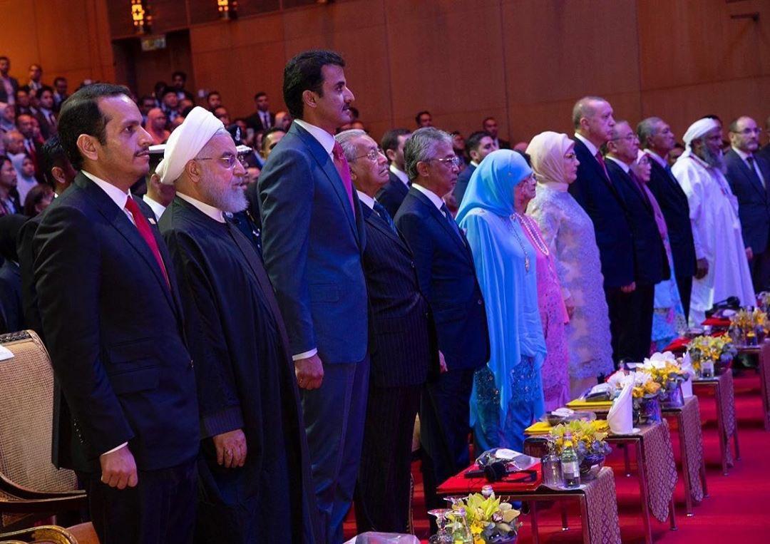 Amir participates in Kuala Lumpur Summit 2019