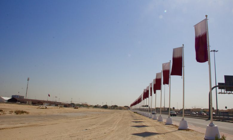 Completion of the artificial lake at Darb Al Saai