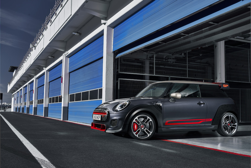 Emotional and highly dynamic: the design of the 2020 MINI John Cooper Works GP Limited Edition.