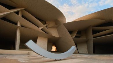 Photo of National Museum of Qatar installs gift from Nobel Peace Center