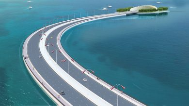 "Photo of New details about the bridges of the ""Sharq Crossing"""