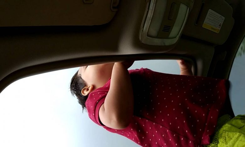 Open sunroof and unrestrained passenger a lethal combination, warns HMC expert