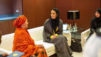 Photo of Sheikha Moza Meets Deputy Secretary-General of United Nations