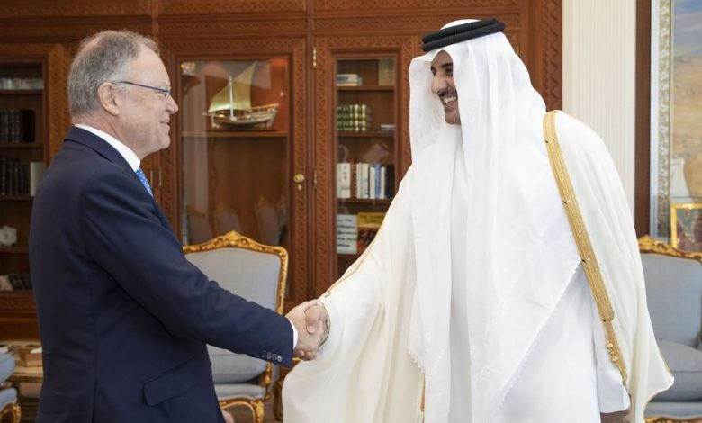 Amir meets Minister President of Lower Saxony