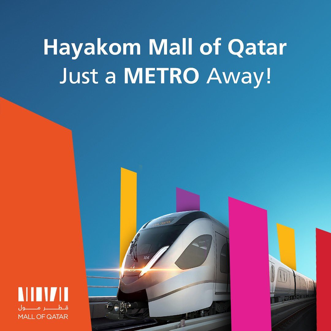 Hayakom Mall of Qatar Just a METRO Away!