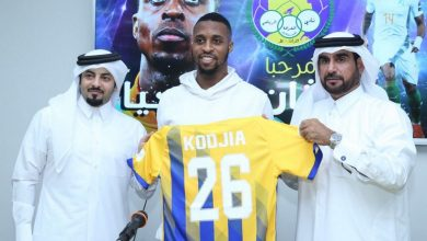 Photo of Kodjia fires hat-trick on Qatar debut as Al Gharafa stun Al Rayyan