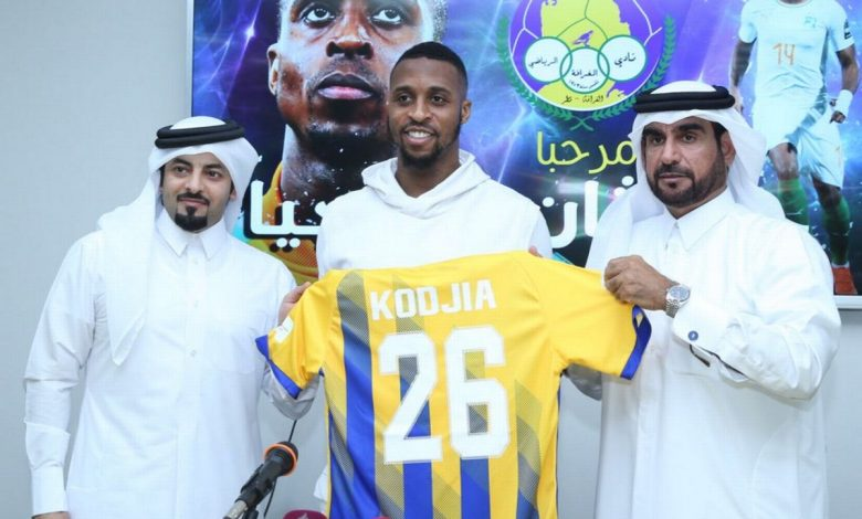 Kodjia fires hat-trick on Qatar debut as Al Gharafa stun Al Rayyan