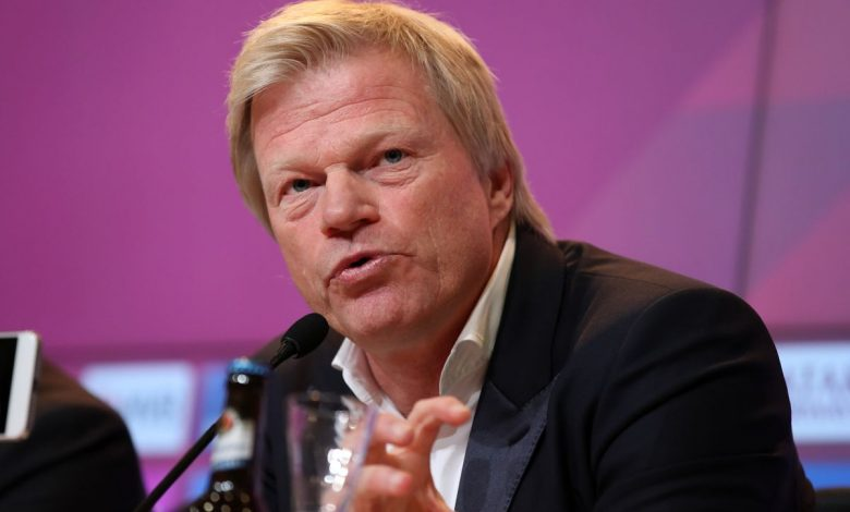 The legend Oliver Kahn in Doha