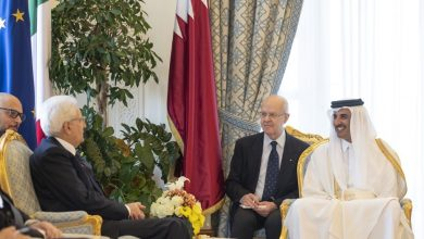 Photo of Amir, Italian President hold official talks