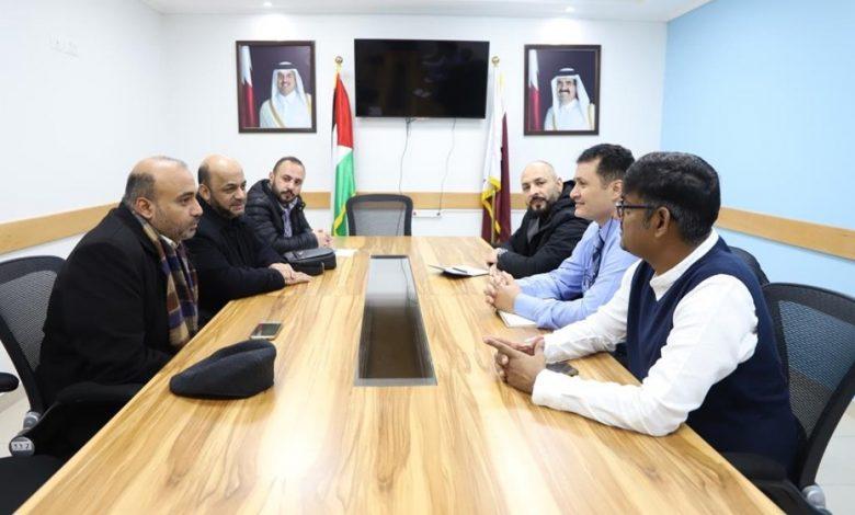 Qatari medical rehabilitation delegation visits Gaza