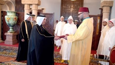 King of Morocco receives credentials of Qatar's envoy