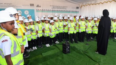 Photo of Nakilat Employees and their Families Join Ashghal to Plant Trees