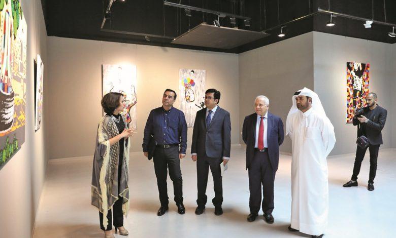 Exhibition at Katara focuses on plight of Palestinian children