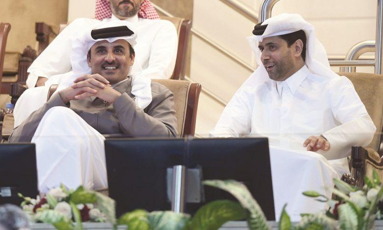 Amir witnesses Qatar ExxonMobil Open tennis match