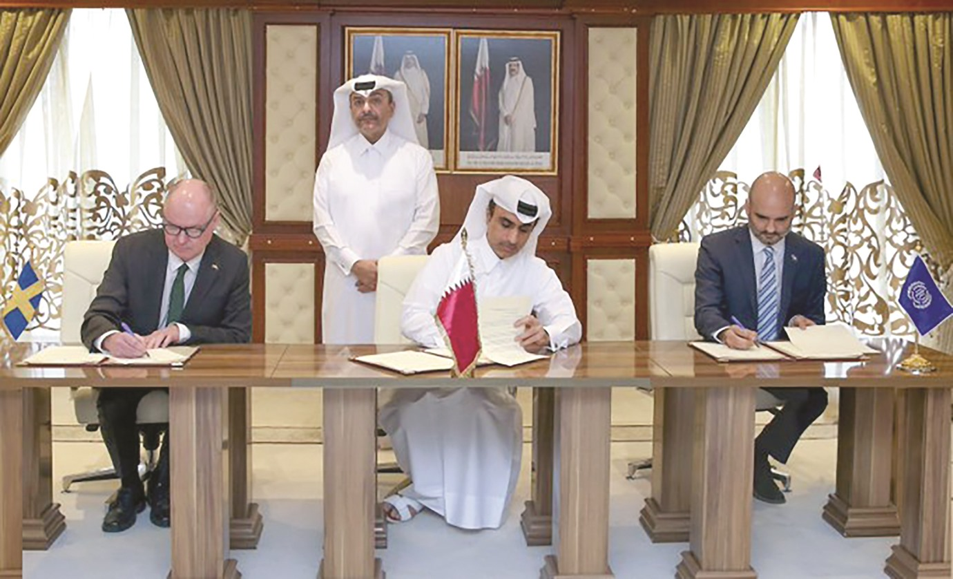 Qatar signs MoU with Sweden, ILO to cooperate on labour issues
