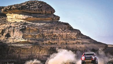 Photo of Al-Attiyah holds second place in Dakar International Rally