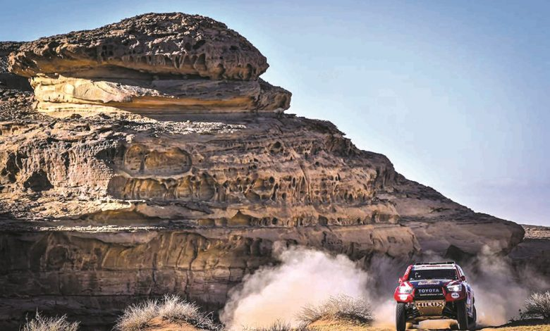 Al-Attiyah holds second place in Dakar International Rally