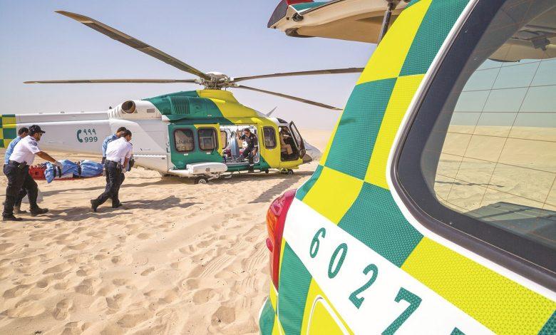 HMC's Ambulance Service responds to 571 calls in Sealine area